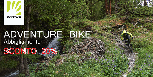 KARPOS ADVENTURE BIKE - SCONTO 20%