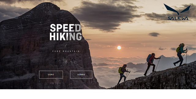 Salewa: SPEED HIKING
