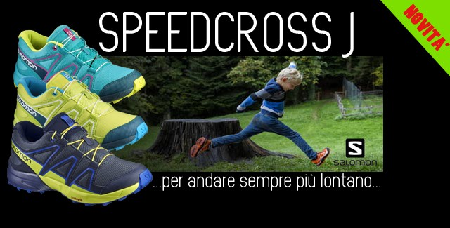 Salomon SPEEDCROSS JR novità