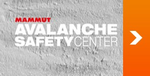 Banner Mammut Avalanche Safety Center