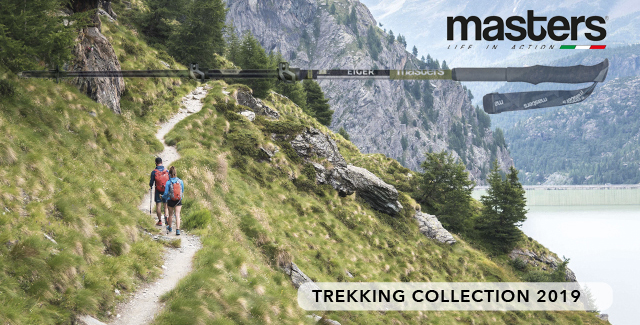 MASTERS trekking poles - LIFE IN ACTION