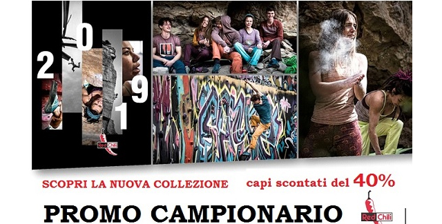 Campionario RED CHILI scontato del 40%