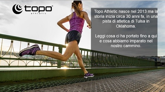 TOPO ATHLETIC leader nella corsa naturale
