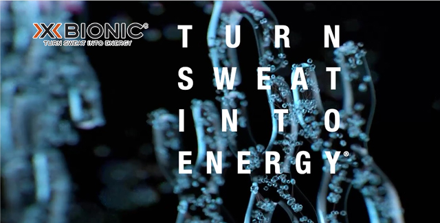X-Bionic Turns sweat into energy